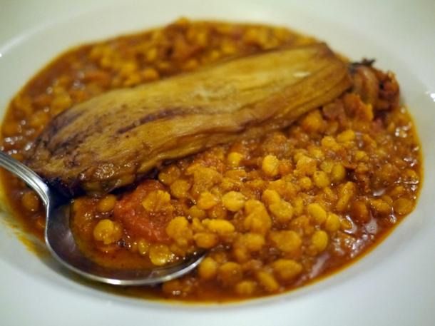khoresht gheymeh bademjan stew at azerbaijan finchley