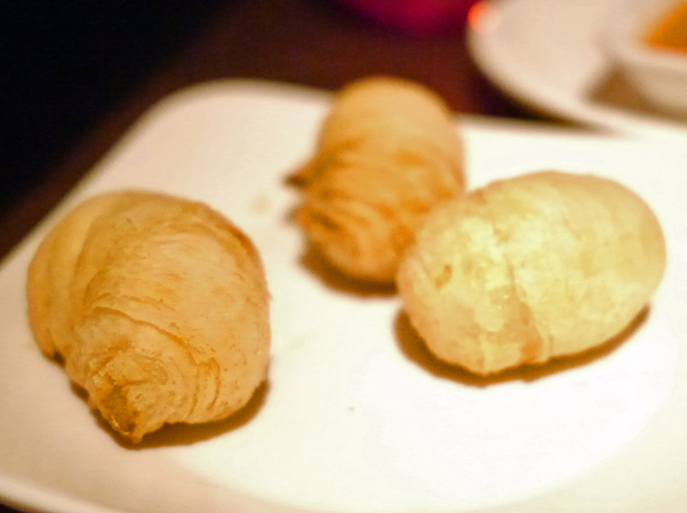 mooli croissant at shanghai blues