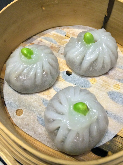 beef dumplings at ping pong