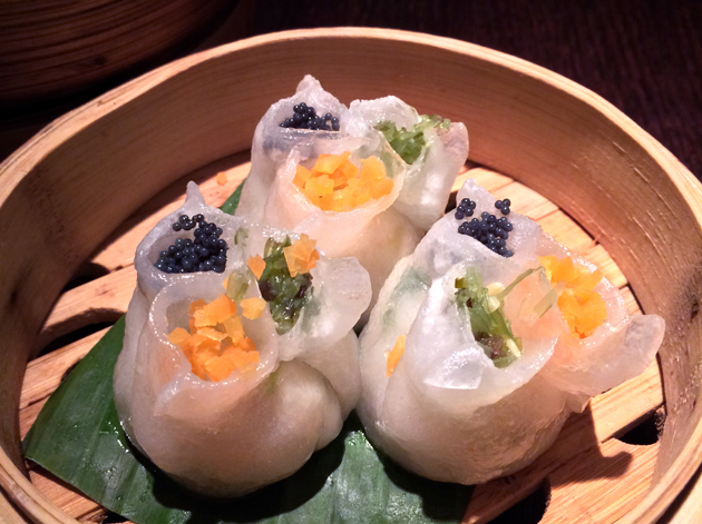 black cod dumplings at plum valley