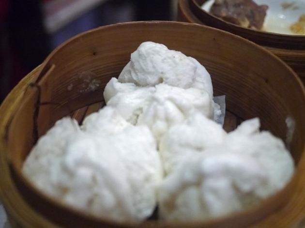 chicken bao at new china