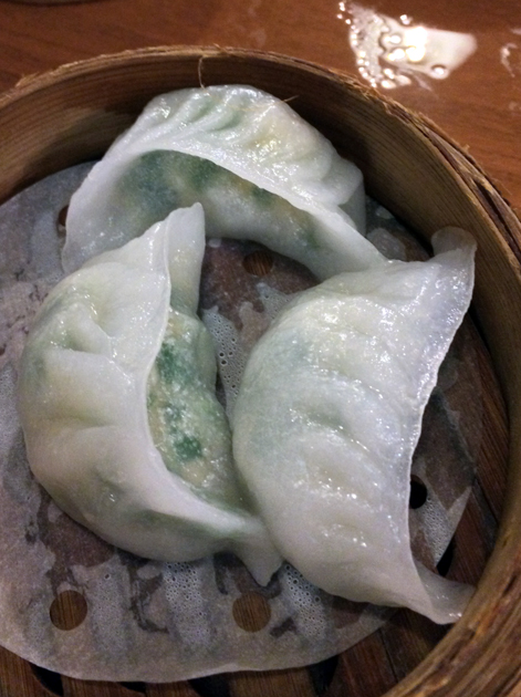 imperial seafood dumplings at shanghai dalston