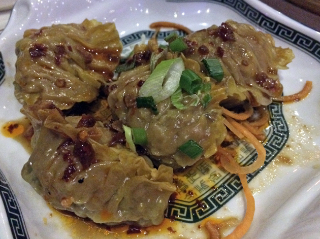 lamb dumpling in chilli dressing at phoenix palace
