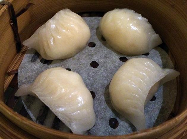 lobster dumplings at china tang