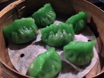 monk's vegetable dumplings at opium