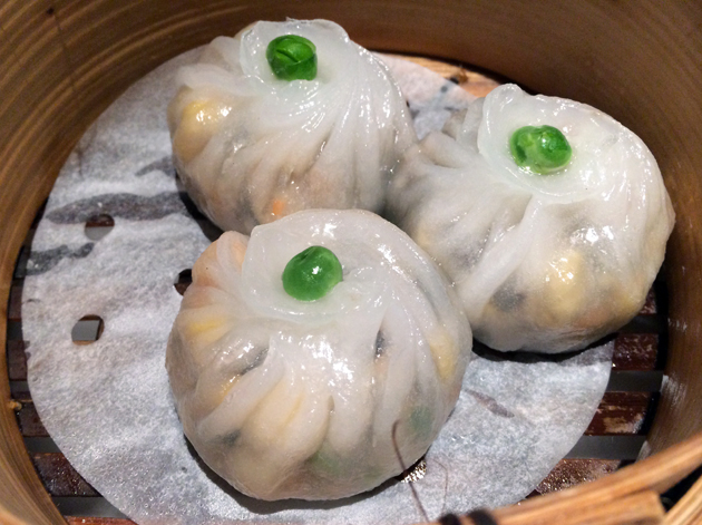 monks vegetable dumplings at pearl liang