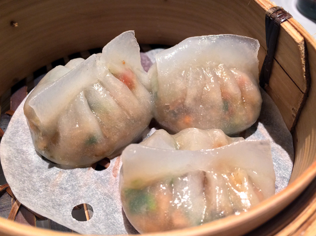 fen guo pork and radish dumplings at pearl liang