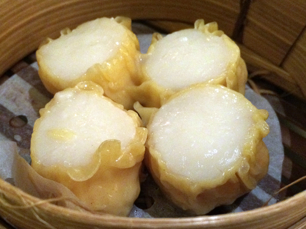 scallop dumplings at china tang