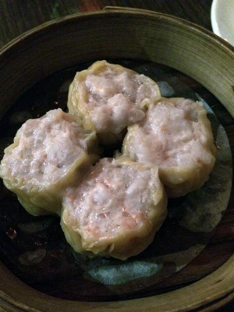 sichuan minced pork and peanut dumplings at yum cha silks and spice