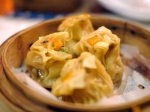 vegetarian siu mai at drunken monkey