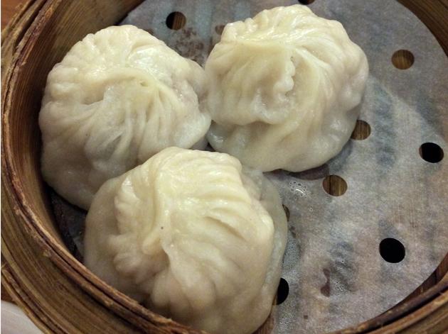 xiao long bao at shanghai dalston