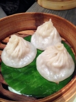 crab xiao long bao at yauatcha