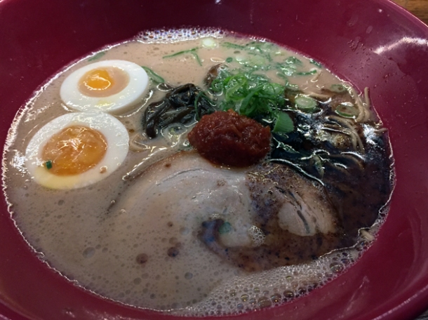 akamaru modern tonkotsu ramen at ippudo london