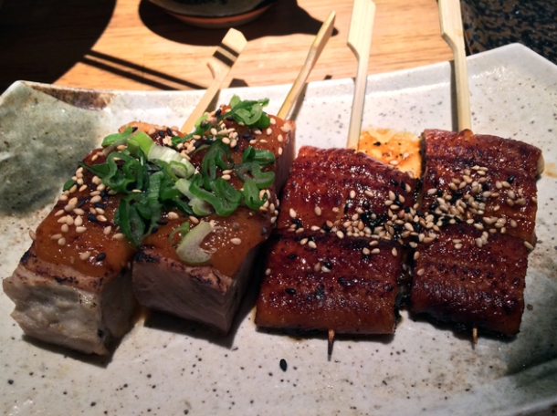 eel and porky belly dozo