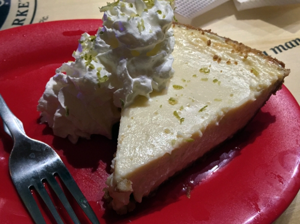 key lime pie at bubba gump