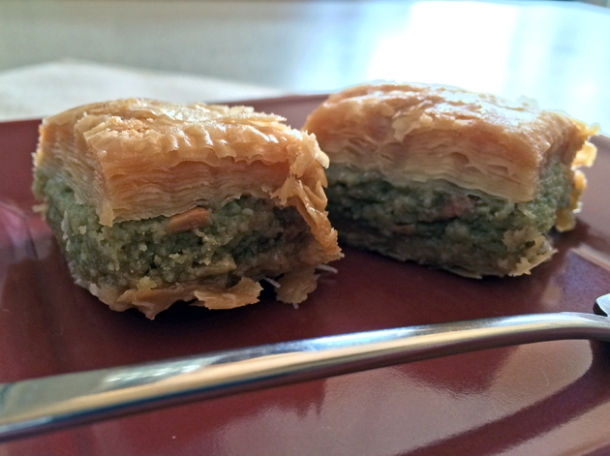 baklava at blue nile woolwich