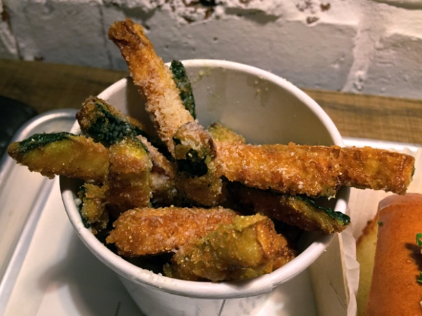courgette fries at smack lobster