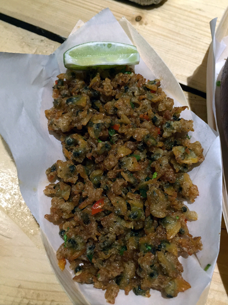 deep fried clams at lobster kitchen