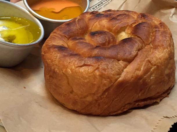kubaneh bread at the palomar