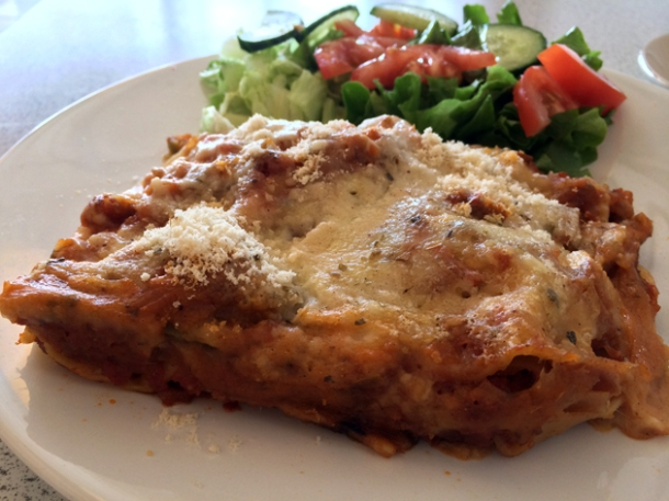 lasagna at blue nile woolwich