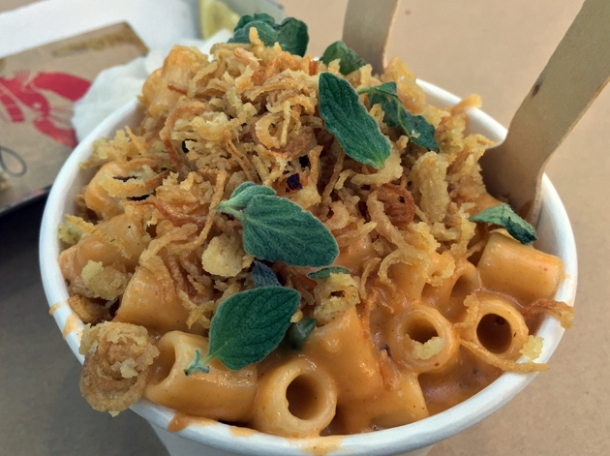 lobster mac and cheese from b.o.b.'s lobster