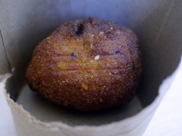 scotch egg from wild game co