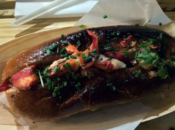 skinny lobster roll at lobster kitchen great russell street