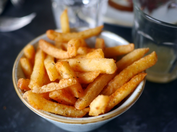 fries at le chalet