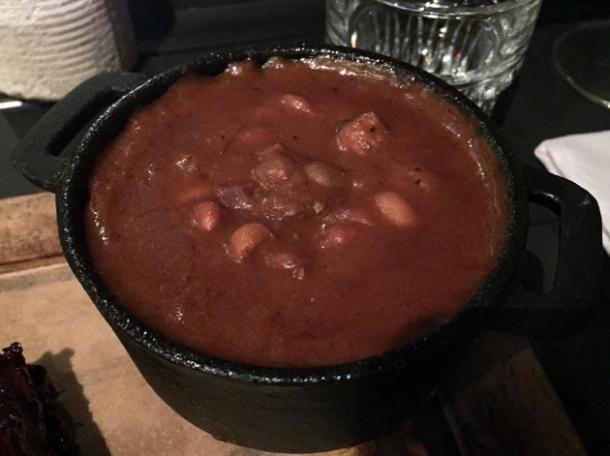 ham hock beans at hotbox