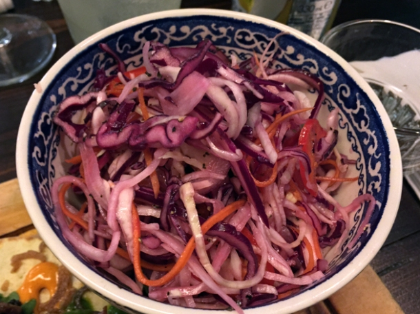 jalapeno coleslaw at hotbox