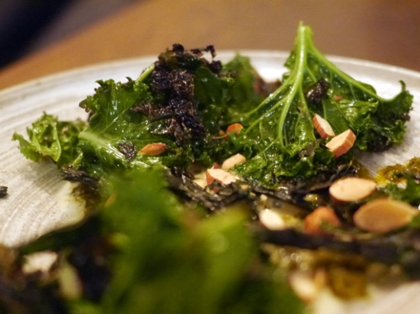 kale with cavolo nero and hazelnuts at the manor clapham