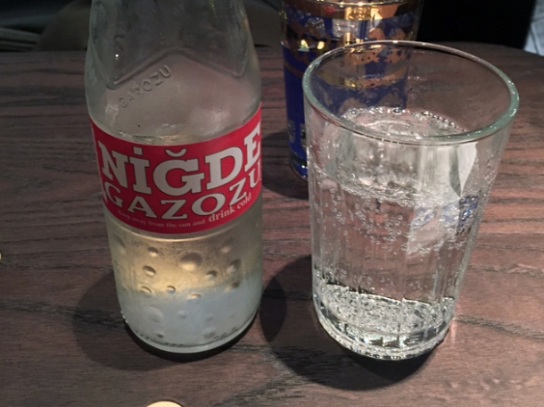 niğde gazozu soft drink at babaji pide