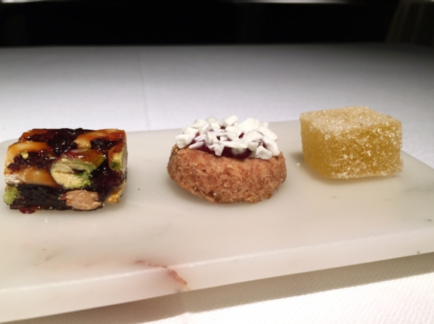 petit fours at pipero al rex