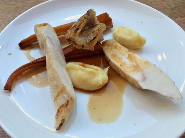 chicken with parsnips at portland