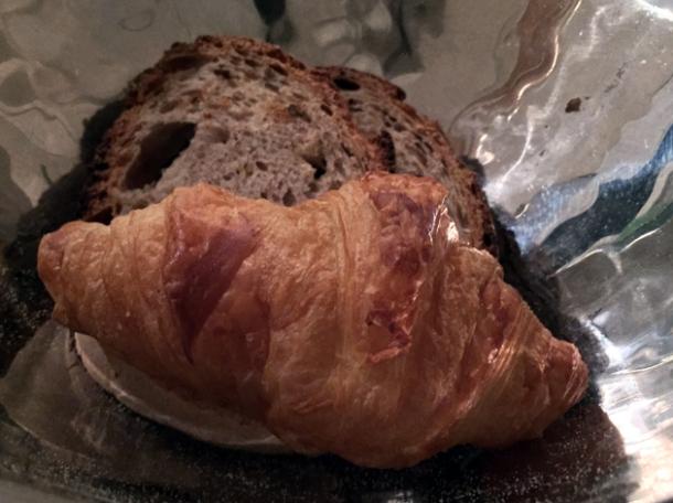 croissant at il sanlorenzo