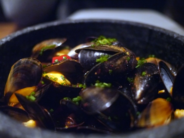 mussels at jinjuu