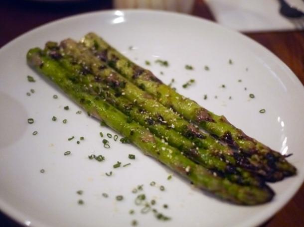 asparagus at bo drake