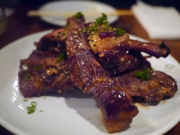 pork spare ribs at bo drake