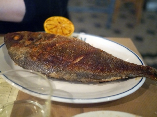 sea bream at rex and mariano
