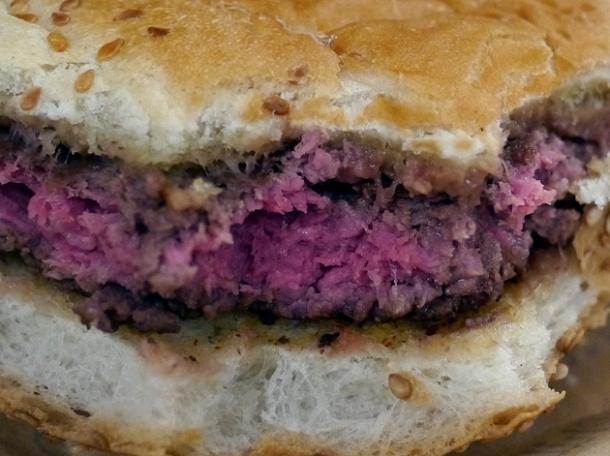 plain beef burger at big fernand