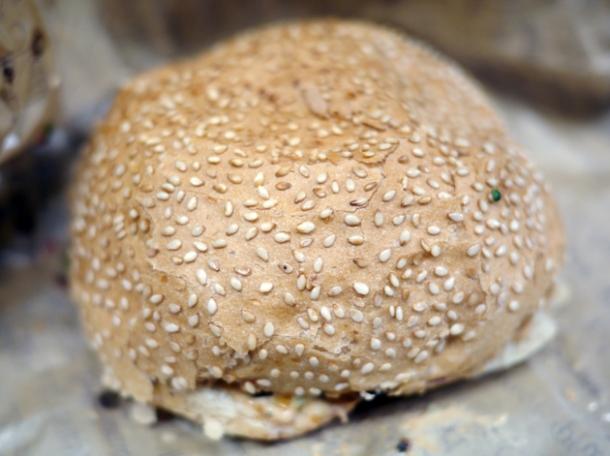 take away burger at at big fernand