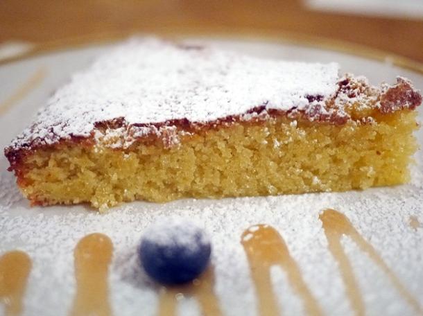 almond tart at morada brindisa asador