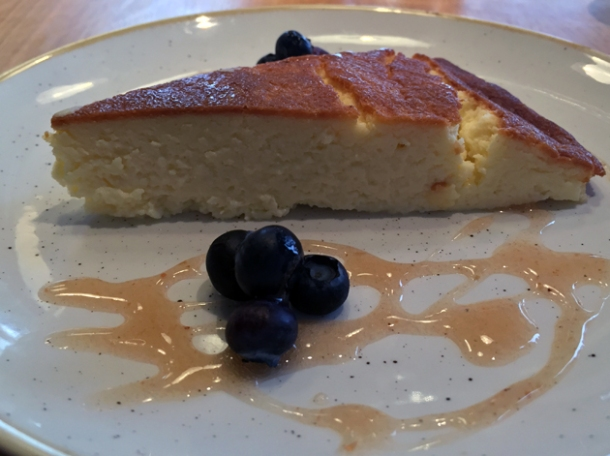 cheesecake at morada brindisa asador