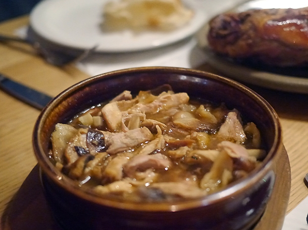 chicken and rabbit stew at morada brindisa asador