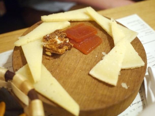hard sheep's cheese at morada brindisa asador