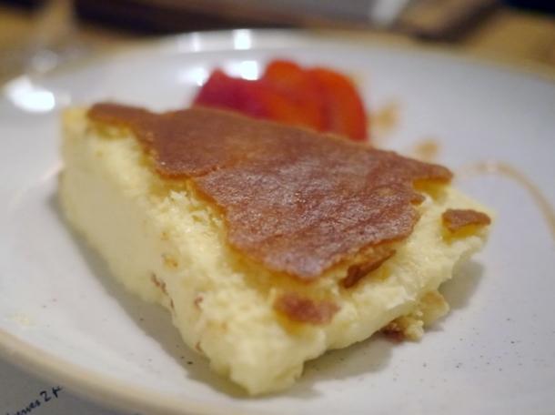 la bauma cheesecake at borada brindisa asador