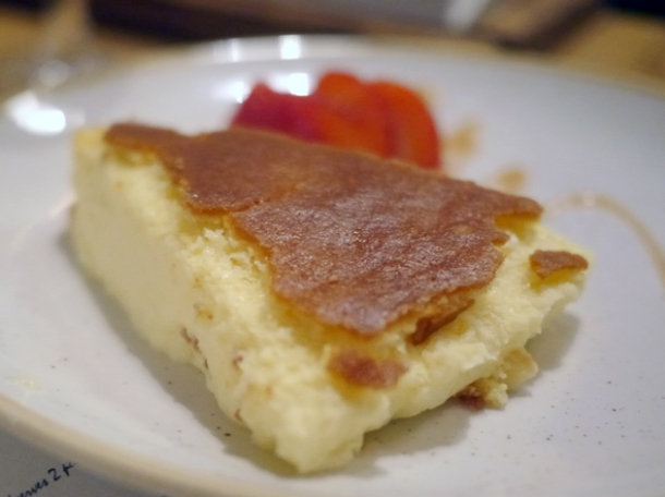 la bauma cheesecake at borada brindisa asador