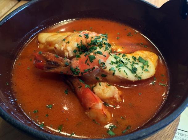 monkfish and potato stew at morada brindisa asador