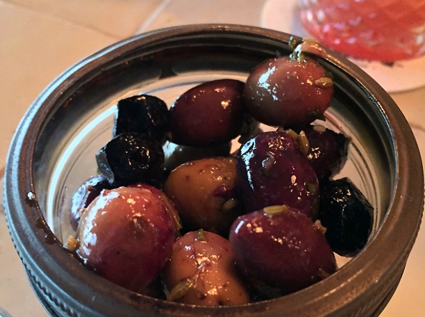 spicy olives at berber and q