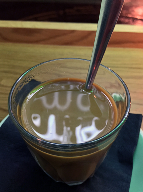 vietnamese coffee at keu soho